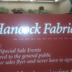 Photo taken at Hancock Fabrics # 126 by Jose S. on 4/29/2012