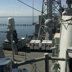 Photo taken at USS Princeton (CG-59) by Manuel M. on 3/4/2012