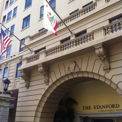 Photo taken at The Stanford Court San Francisco by Kimberly H. on 3/25/2012