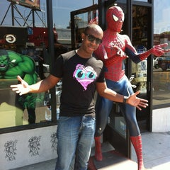Photo taken at Golden Apple Comics by Joey B. on 6/2/2012
