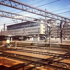 Photo taken at Gare de Bruxelles-Midi / Station Brussel-Zuid by Kaysha on 7/25/2012