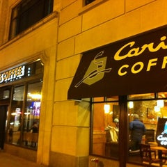 Photo taken at Caribou Coffee by Brett N. on 2/17/2012