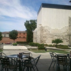 Photo taken at Patio Herreriano by Nacho D. on 7/21/2012