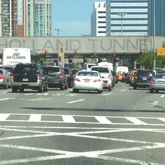 Photo taken at Holland Tunnel by Gianani P. on 5/20/2012