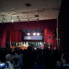 Photo taken at Teatro Municipal de San Lorenzo by Alcides R. on 8/25/2012