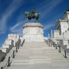 Photo taken at Altare della Patria by Biagio Luca M. on 4/20/2012