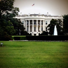 Photo taken at South Lawn - White House by Chris E. on 7/11/2012