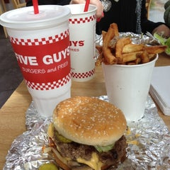 Photo taken at Five Guys by James T. on 4/30/2012