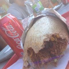 Photo taken at Burro Burrito by Tom W. on 7/12/2012