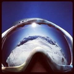 Photo taken at Whistler Mtn. Peak by Ken on 3/6/2012