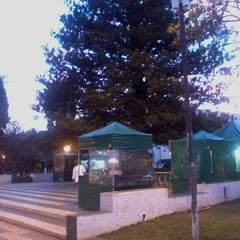 Photo taken at Praça Da Matriz by Luiz Henrique T. on 6/23/2012