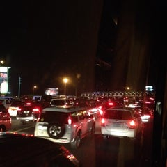 Photo taken at NLEx Bocaue Toll Plaza by Gae W. on 4/8/2012