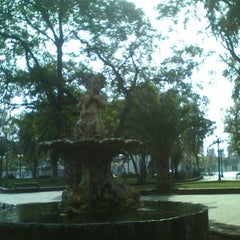 Photo taken at Plaza de Armas de Buin by Nelson P. on 5/21/2012