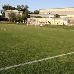 Photo taken at Clark University - Dolan Field House by Jeremy K. on 8/31/2012
