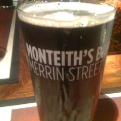 Photo taken at Monteiths Brewery Bar by James T. on 8/4/2012