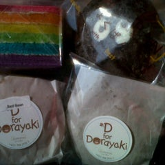 Photo taken at Shokupan Dorayaki Addict!! by elly a. on 6/30/2012