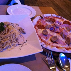 Photo taken at Trattoria Cucina Italiana by Karen K. on 2/12/2012