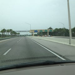 Photo taken at Toll Plaza by Paul G. on 6/7/2012