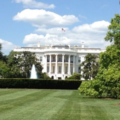 Photo taken at South Lawn - White House by Dara on 4/24/2012
