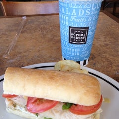 Photo taken at Corner Bakery Cafe by Cathy S. on 5/27/2012