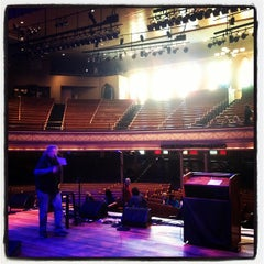 Photo taken at Ryman Auditorium by Jason N. on 2/22/2012
