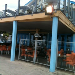 Photo taken at The Wharf Shed Café by Karen A. on 3/2/2012