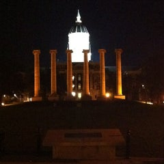 Photo taken at The Columns at Francis Quadrangle by Mark W. on 9/3/2012