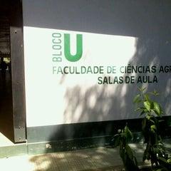 Photo taken at Faculdade de Ciências Agrárias - Universidade Federal do Amazonas by Gabriella M. on 3/20/2012