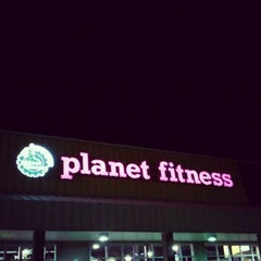 Photo taken at Planet Fitness by Danielle C. on 5/31/2012