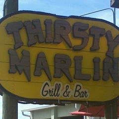 Photo taken at Thirsty Marlin Grill & Bar by Missi on 2/20/2012