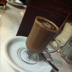 Photo taken at Fran's Café by Felipe C. on 9/5/2012