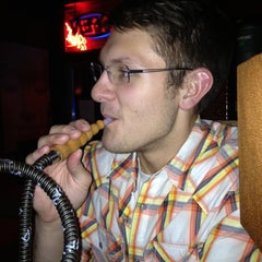 Photo taken at Karma Hookah and Cigar Lounge by Kayne K. on 9/1/2012