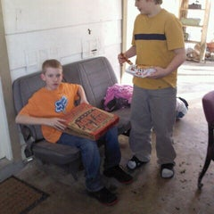 Photo taken at Little Caesars Pizza by Sarah Renae L. on 3/21/2012