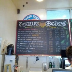 Photo taken at Philz Coffee by Dave W. on 5/5/2012