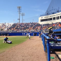 Photo taken at McKethan Stadium at Perry Field by Jeff H. on 3/18/2012
