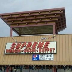 Photo taken at Supreme Hibachi Buffet by Troy C. on 5/4/2012