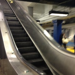 Photo taken at MBTA Government Center Station by Irene B. on 4/18/2012