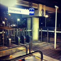 Photo taken at Metrostation Postjesweg by Nils V. on 7/10/2012