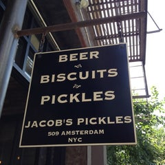 Photo taken at Jacob's Pickles by Jared B. on 6/24/2012