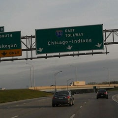Photo taken at Wisconsin/Illinois State Line by Mark P. on 4/13/2012