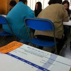 Photo taken at Colegio Salesiano Santa Julia by Bernardo M. on 8/19/2012