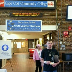 Photo taken at Cape Cod Community College by Lisa M. on 4/20/2012