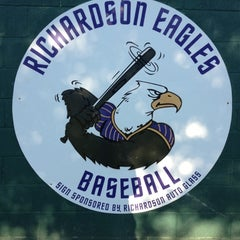 Photo taken at Richardson High School Baseball Field by Kirsten O. on 4/5/2012