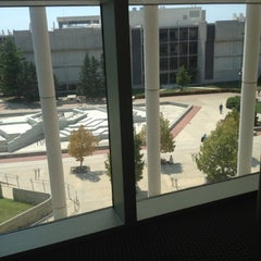 Photo taken at Duane G Meyer Library by Courtney B. on 8/28/2012