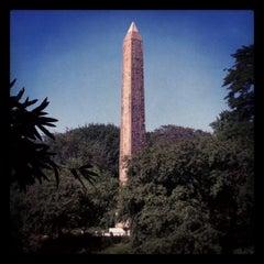 Photo taken at The Obelisk (Cleopatra's Needle) by Scott K. on 6/27/2012