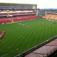 Foto tirada no(a) Newlands Rugby Stadium por Rene P. em 3/30/2012