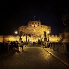 Photo taken at Giardini di Castel Sant'Angelo by rEn on 6/9/2012
