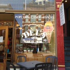 Photo taken at Del's Popcorn Shop by Aimee B. on 5/2/2012
