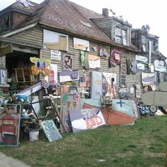 Photo taken at The Heidelberg Project by Bob M. on 7/31/2012
