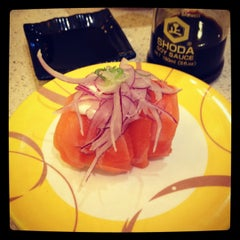 Photo taken at Sushi Bay by Peter D. on 2/21/2012